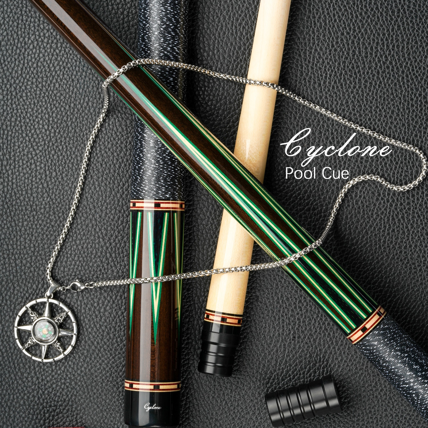 Cyclone-6 Billiard Cue Stick Inlaid Carving Cue 13mm Tip 3*8/8 Radial Pin Handmade Professional Cue By FURY Factory Manufacture