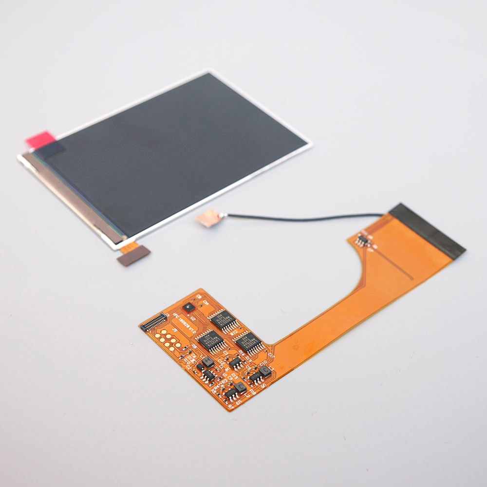 Для GBC IPS высокий светильник подсветка светильник ЖК-экран для Nintendo Gameboy консоль регулировка яркости