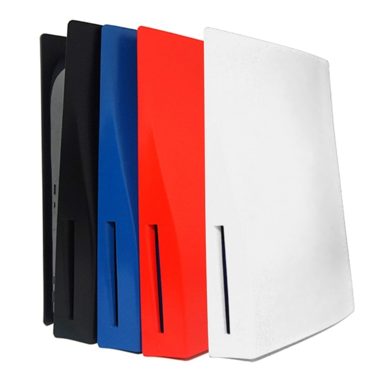 2021 New Skin Shell Case Cover for PS5 Optical Drive Console Anti-Scratch Dustproof Plate