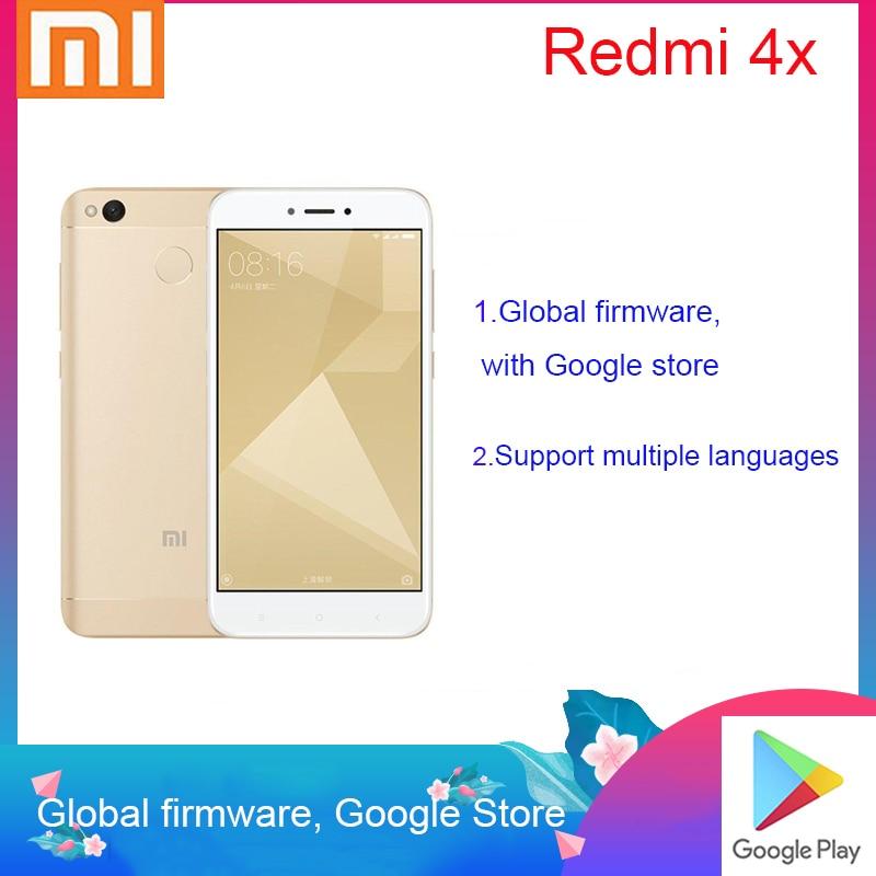Смартфон Xiaomi Redmi 4X Googleplay, 4000 мАч, HD экран, Snapdragon 435, задняя камера 13 МП