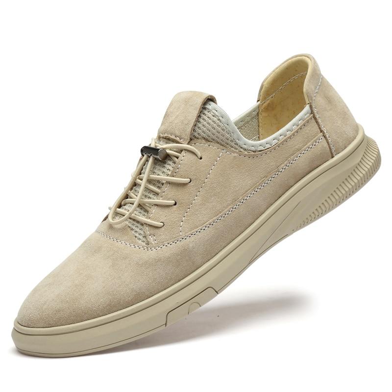 أحذية جلدية أصلية للرجال ، أحذية أكسفورد مسامية ، أحذية رياضية صيفية غير رسمية ، مجموعة جديدة