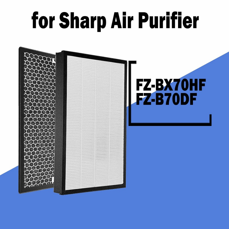 Multifunction Replacement Filter for Sharp Air Purifier KC-A50E-B KC-850 KC/KI-AX70 KC/KI-DX70 KC/KI-BX70 KC-B70