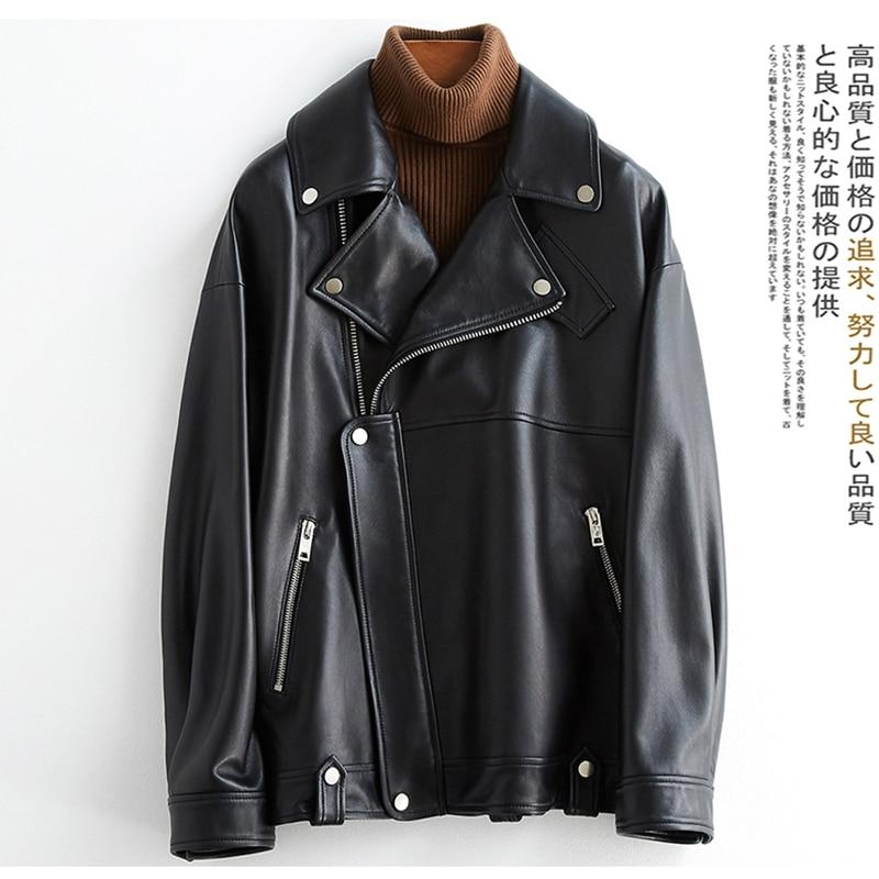 Nerazzurri белый черный плюс размер кожаные куртки для женщин с длинным рукавом на молнии Свободная весна Байкерская куртка из искусственной ко...
