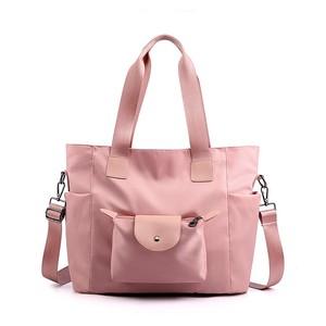 2020 Brand Large Capacity Waterproof Nylon Women Handbag High Quality Shoulder Bag For Women Solid Multi-Pockets Shoulder Bag