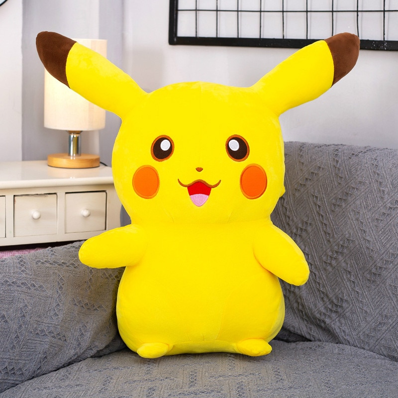 Pokemon Pichu Takara Tomy Plush Lovely Pikachu Juvenile Version Evolution Toy Hobby Collection Doll Gift for Girl TAKARA TOMY