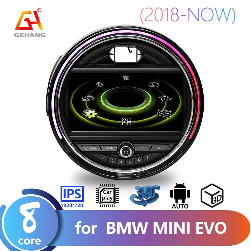 GEHANG-مشغل موسيقى وفيديو لسيارات BMW و MINI EVO Class 10.0 ، Android 2018 ، 4 64 GB 8 Core