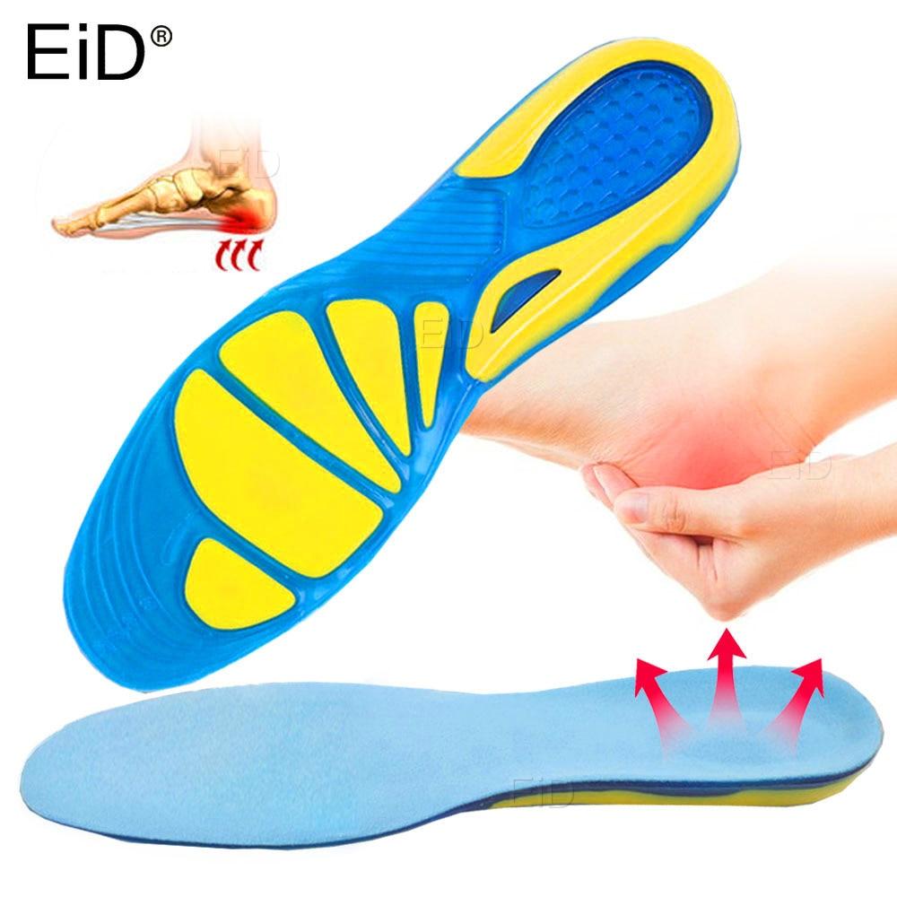 Стельки EiD Gel, Силиконовые ортопедические стельки для ухода за ногами, стельки для обуви, спортивные амортизирующие стельки, ортопедические ...