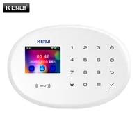 KERUI W20 BRICOLAGE Systeme Dalarme WIFI GSM Securite A La Maison Sensible App Rappeler Sans Fil PIR Detection De Mouvement Alarme Porte Ouverte