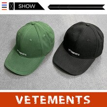 Chao brand vetements cap VTM wetmont leisure embroidered men's and women's sun hat