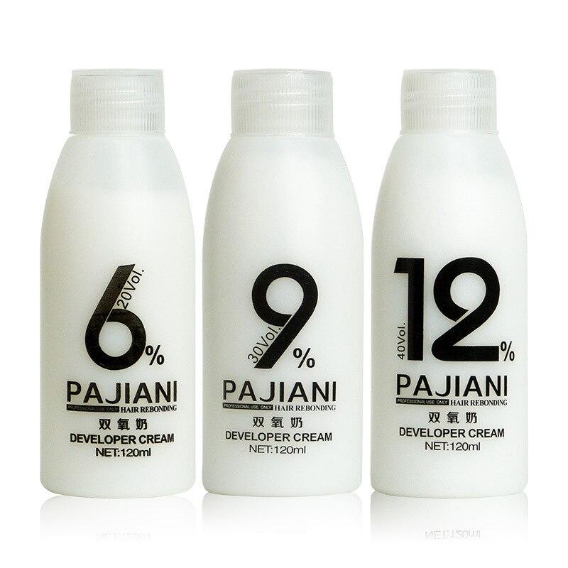 3pc Non-irritating Hydrogen Peroxide Hair Dye Cream Companion Hydrogen Peroxide Hairdressing Supplies Aromatic Hydrogen Peroxide