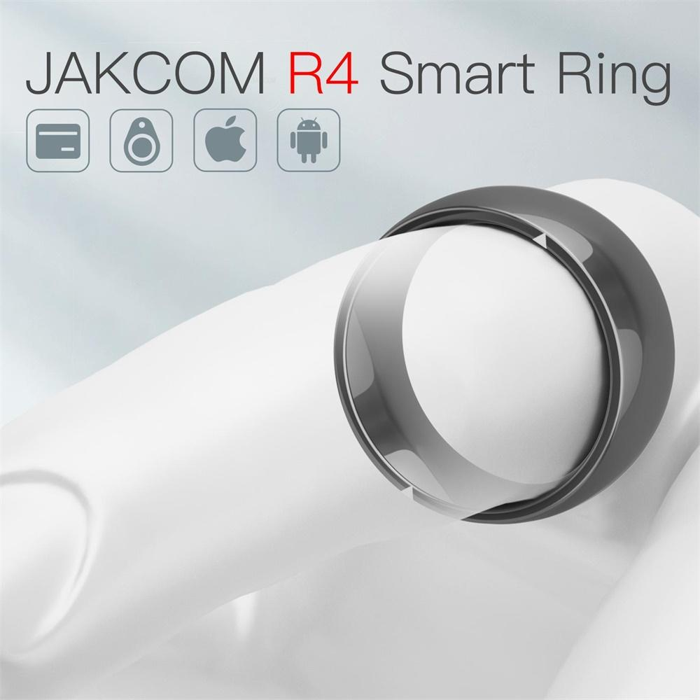 JAKCOM R4 anillo inteligente súper valor como tarjeta de identificación rf interior para pájaro podómetro reloj mascota escáner pulsera hombres sim7020e lector