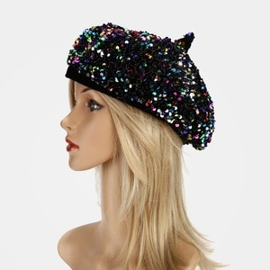 Beret autumn and winter new painter's hat European and American street hat children's fashion personalized pumpkin hat