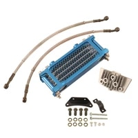 motorcycle oil cooling cooler radiator oil cooler set for 50cc 70cc 90cc 110cc horizontal engine chinese made