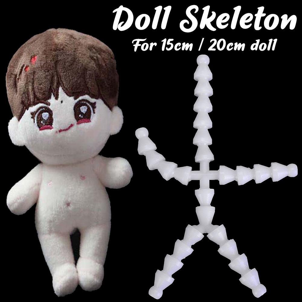 Venda quente 15/20cm bonecas esqueleto novo esqueleto joint brinquedo de pelúcia boneca diy acessórios adequados para o tipo de corpo normal 15cm bonecas