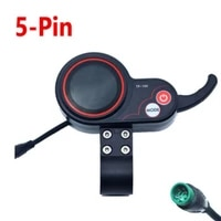 10inch electric scooter instrument display e scooter speed controller 5 pins plastic dashboard display screen for kugoo m4