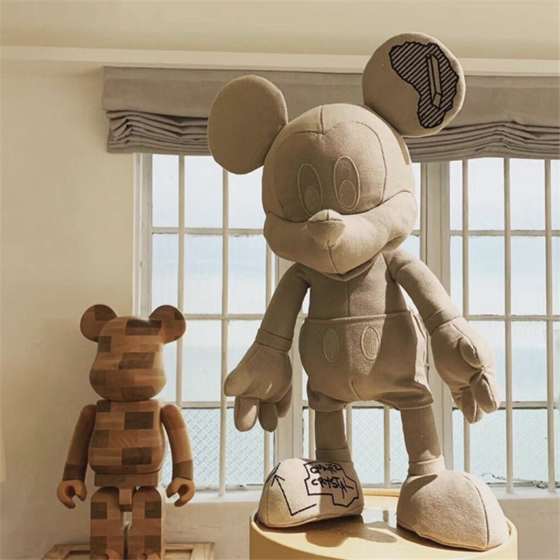 Disney Подлинная Микки кукла творческий граффити серии большая изображением Микки с Микки-Маусом кукла мышка украшения