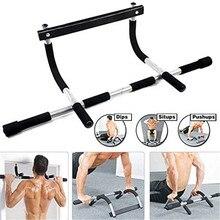 Gym Pull Up Sit Up Tür Bar Tragbare Kinn-Up für Oberkörper Training Tür Pull up bar wand chin up bar Horizontale bar 2020