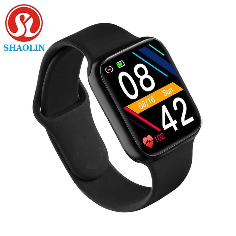 Mulheres relógio inteligente série 5 homens bluetooth à prova dwaterproof água smartwatch para apple relógio ios iphone android telefone rastreador de fitness pk iwo