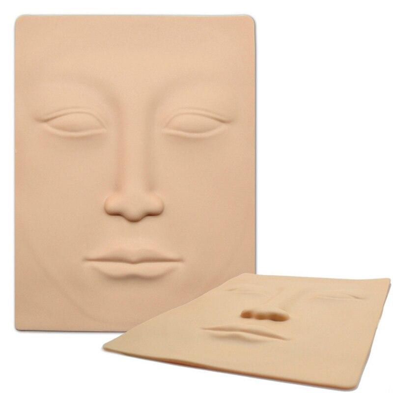 3D permanente práctica de maquillaje de silicona tatuaje facial práctica piel nuevo diseño pieles falsas para principiantes tatuaje