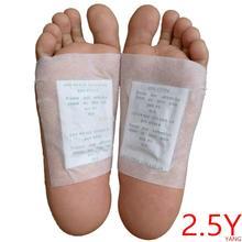 200 Stks/partij (2.5Y) kinoki Detox Foot Pads Biologische Kruiden Reinigen Patches (1 Lot = 200 Pcs = 100 Stuks Patches + 100 stuks Adhesives) dropship