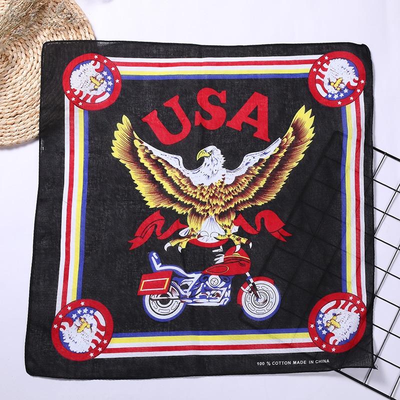 Rock eagle-fly bandana bboy paisley cachecol ciclismo balaclava algodão hiphop headwear du-rag bandana máscara caminhadas gaiter cachecóis