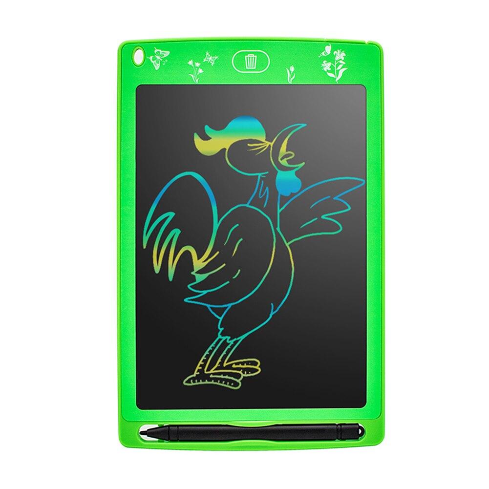 Tableta de escritura LCD, tablero para escribir y dibujar electrónico de 8,5 pulgadas, tablero para garabatear borrable M09