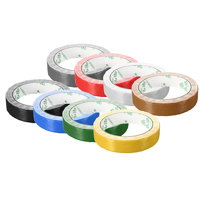 10m x 20mm Wasserdicht Rolle Befestigungs Dichtung Klebeband Selbst Klebe Craft Reparatur Vinyl Tuch Verstärkte Band