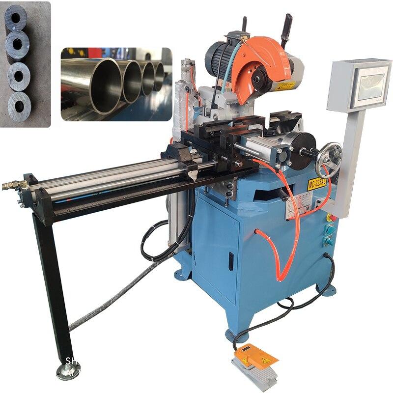 Rohr schneiden maschine automatische cnc billiger hohe effciency Metall edelstahl kupfer rohr Circular Sägen schneiden Maschine