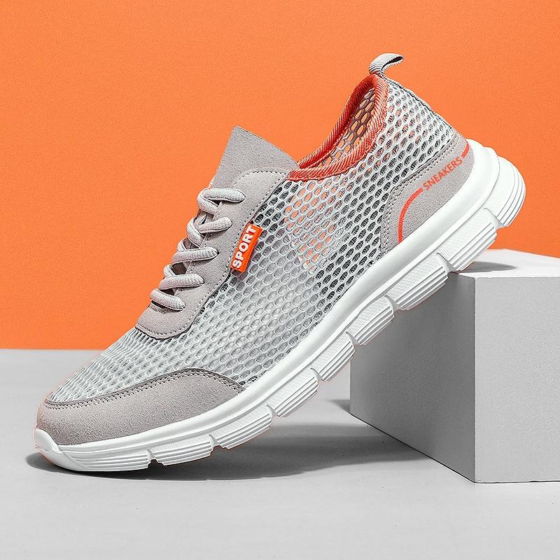 Кроссовки мужские сетчатые для тенниса, мягкие лоферы, легкая повседневная обувь, дешево, осень   Обувь   АлиЭкспресс