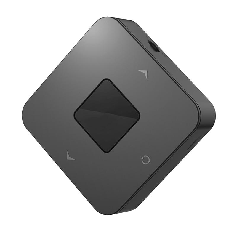 Receptor transmisor Bluetooth 5,0 inalámbrico 3,5mm RCA adaptador óptico o para baja latencia enlace Dual para equipos de TV