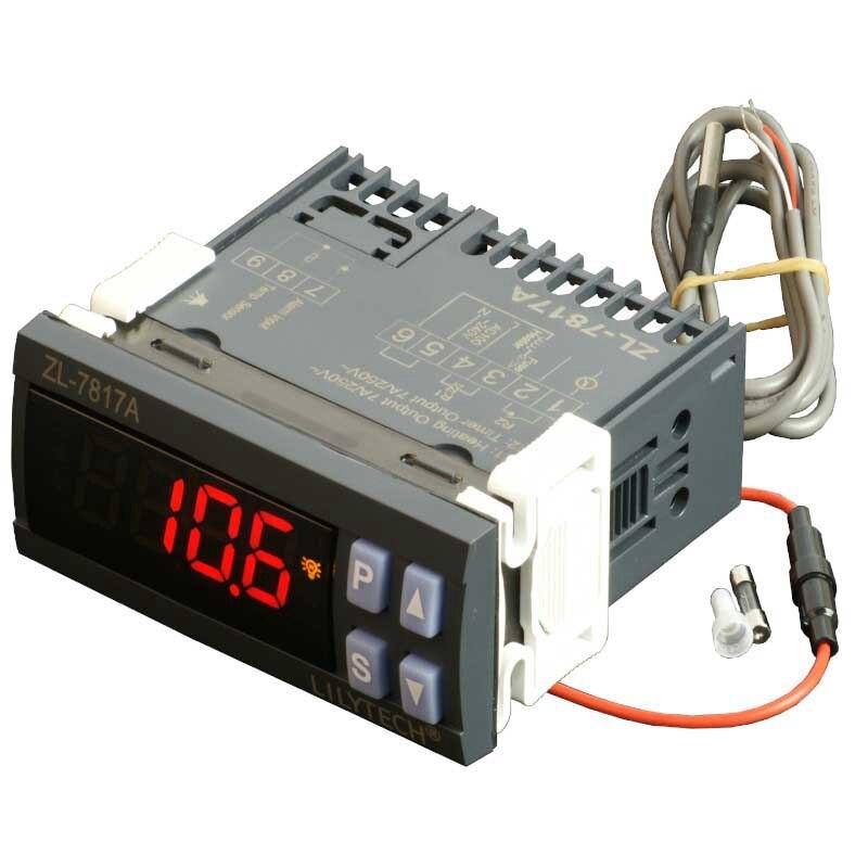 LILYTECH ZL-7817A وحدة تحكم في درجة الحرارة PID ترموستات مع SSR 100-240Vac امدادات الطاقة المتكاملة