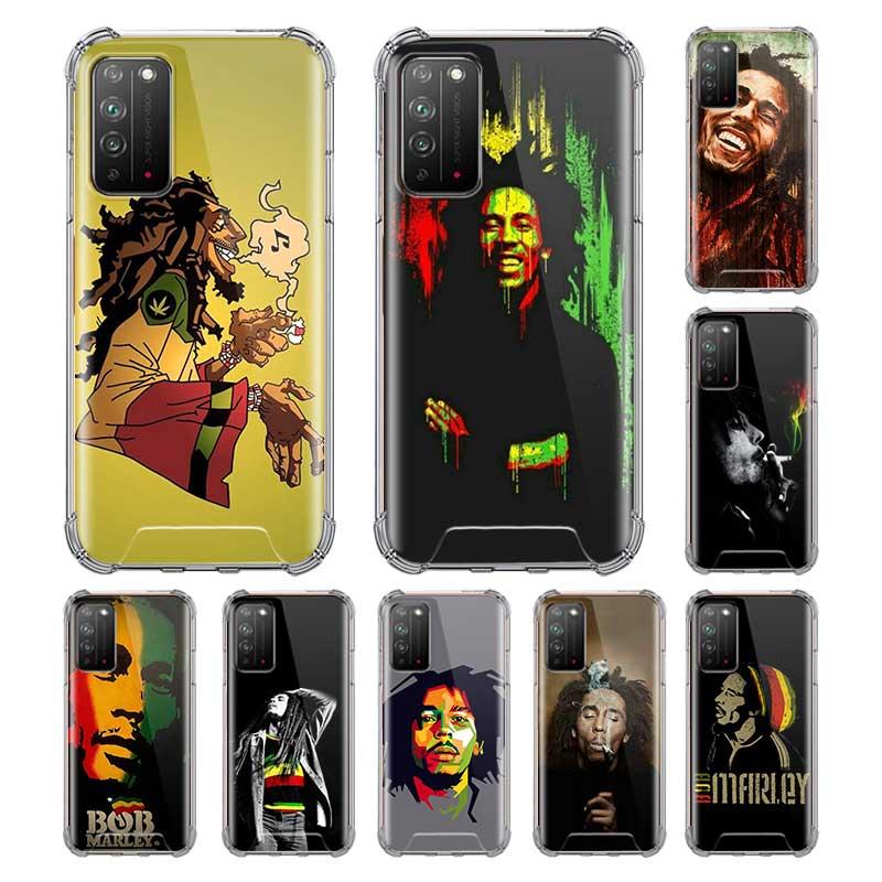 Bob Marleys León Rasta Reggae Capa para Huawei Honor 20i 10 Lite 9S 9C 20 8S 9X Y9 Y9s Y8s Y8p Y7 2019 bolsas de aire anticaída