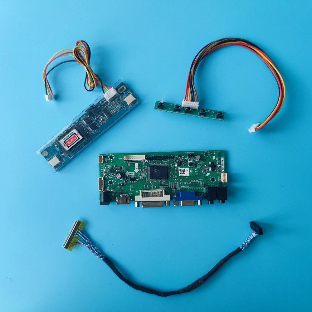 العمل ل 18.5 بوصة HT185WX1-100/500/501 30pin 60hz 1366x768 2 مصابيح جهاز تحكم بالشاشة مجلس LVDS DVI VGA إشارة HDMI-متوافق