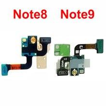 5 adet/grup Samsung Galaxy not 9 için N960 N960F N960U not 8 N950 N950F N950U sensörü ışık yakınlık Flex kablo parça Note9 Note8