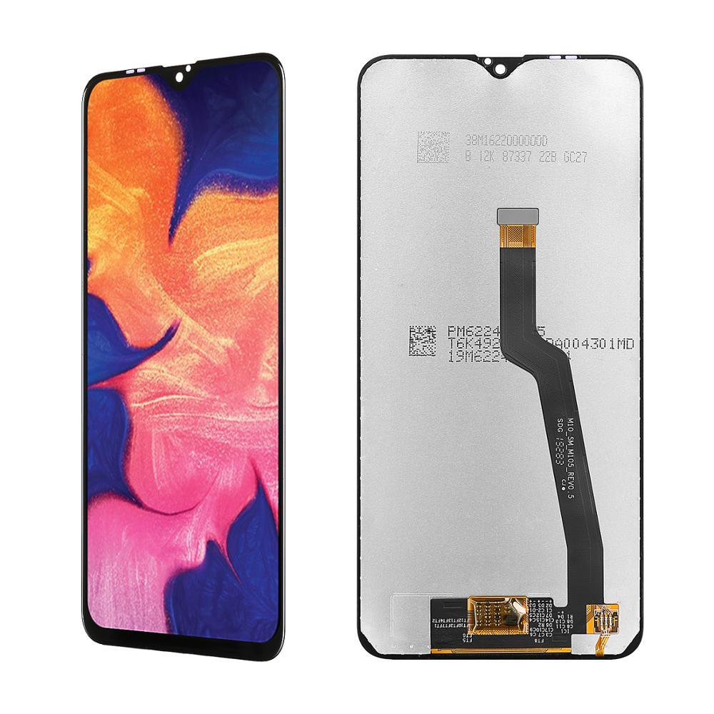 Reemplazo LCD para Samsung Galaxy A10 A105 A105F SM-A105F pantalla LCD y digitalizador de pantalla táctil puede ajustar el montaje de brillo
