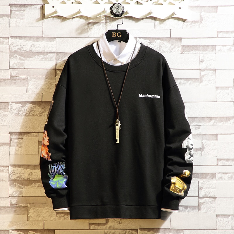db5369 dave bella autumn infant babyboys toddler hooded top boys printed t shirt children high quality tees Long Sleeves Men's Tshirts 2021 New Spring Autumn Clothes Classic T-shirt Top Tees High Quality