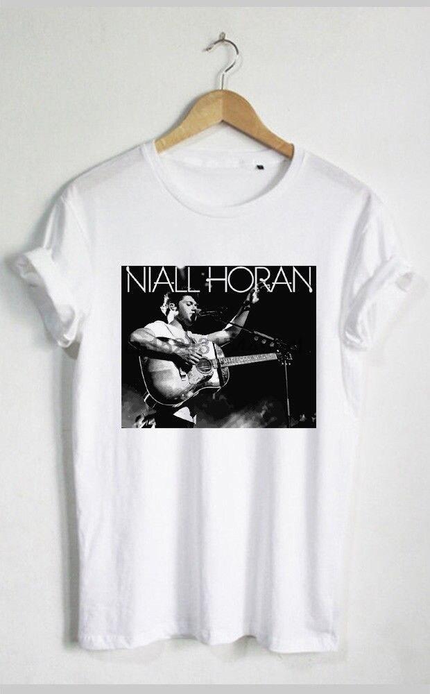 Niall Horan World Tour Concert Black Gray White T Shirt Unisex Men Woman