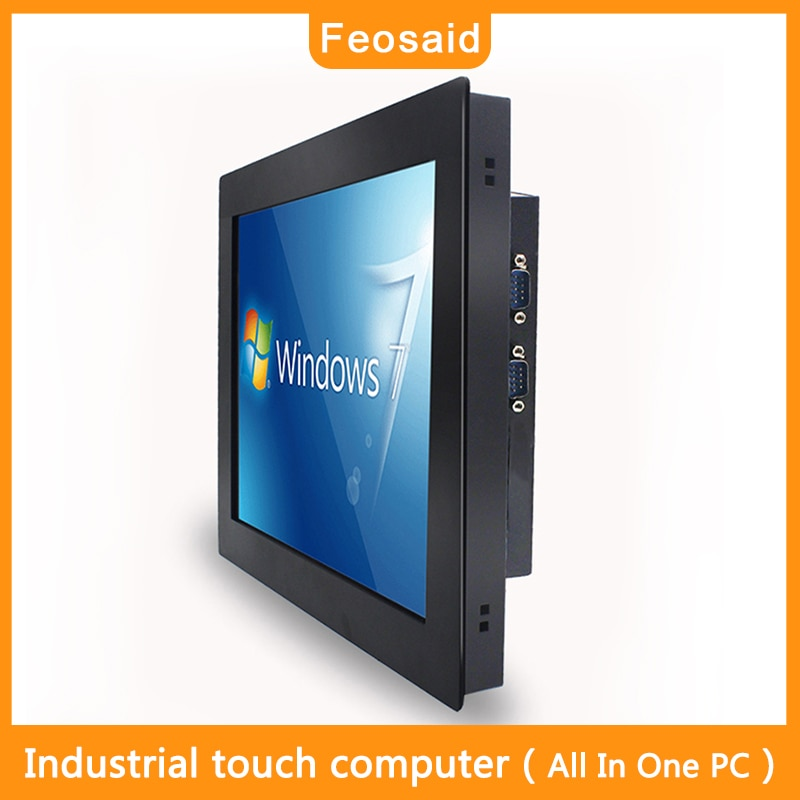 17''Industries Tablet Computer 4G8GRAM core i5i7 Resistive screen touch Wall-mounted bracket mounting All in one Pc  Win10 Wifi