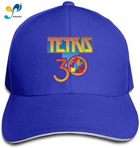 Te-Tris Casquette Sunhat Adjustable Sandwich Cap Baseball Hats