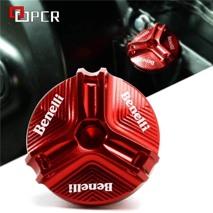 Aceite de la motocicleta tapón de relleno para BENELLI 502C 752 TRK 502X502X251 BN302 LEONCINO 250/500 /TRAIL TNT125 TNT251