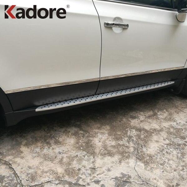 For Suzuki Sx4 S-Cross SX4 Crossover 2014-2018 Side Door Body Molding Line Cover Trim Protector Decoration Exterior Accessories