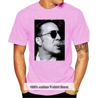 hip hop novelty t shirts mens brand clothing nicolas cage mens t shirt celebrity star one in the city