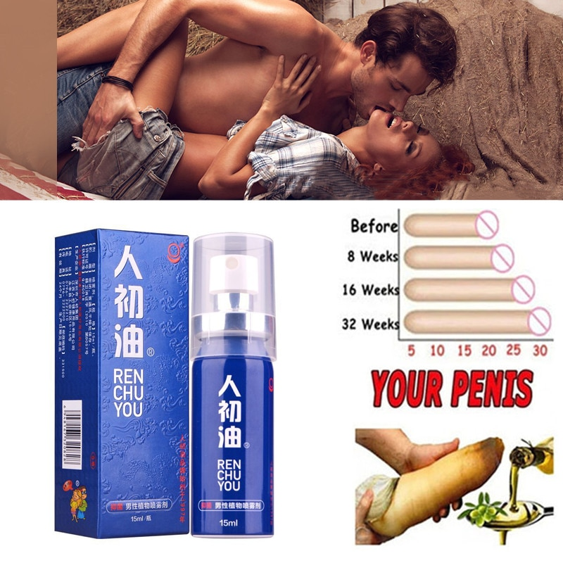 New Blue 15ml Viagra Spray Powerful Delay Products for Men Penis Extender Prevent Premature Ejaculat