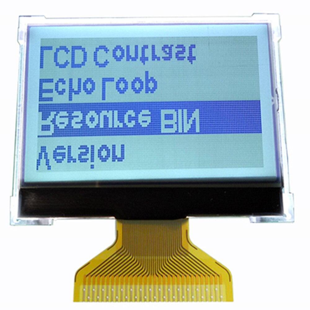 12864 lcd-bildschirm COG 12864 LCD display modul ST7565R LCD mit hintergrundbeleuchtung 3,3 V 30PIN, grau/blau optional