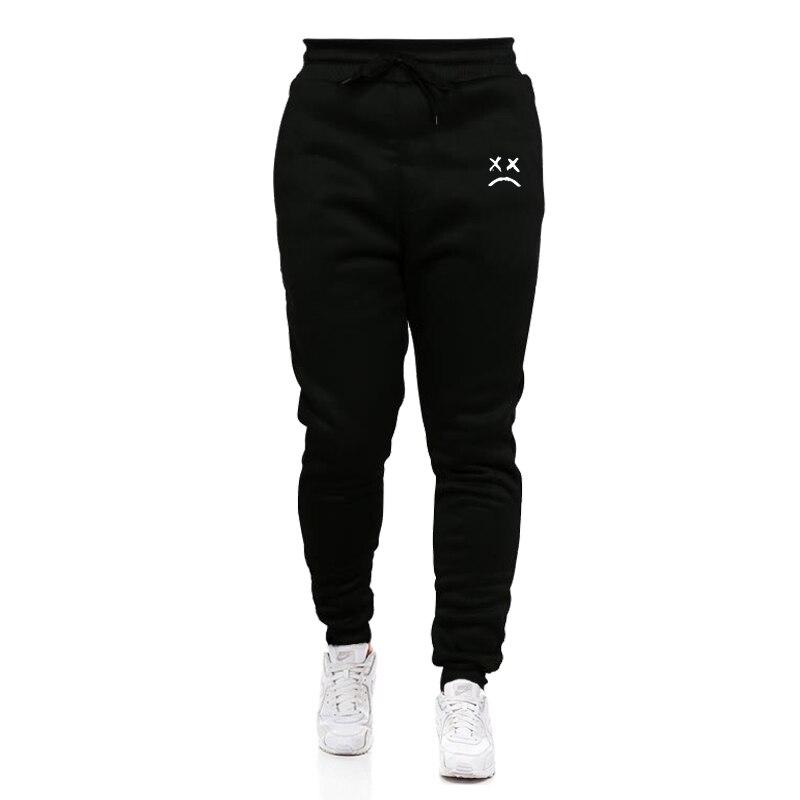 New Running Jogging Pants Men Cotton Soft Bodybuilding Joggers Sweatpants Long Trousers Sport Training Pants