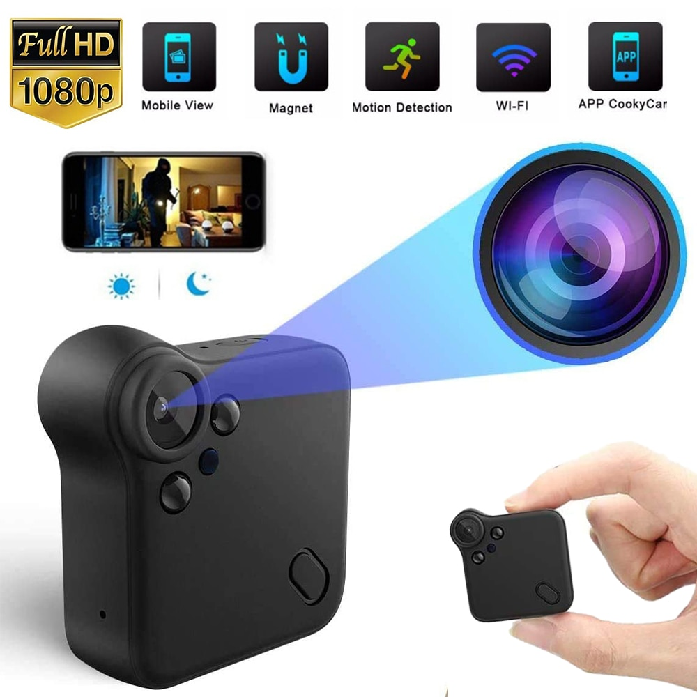 Minicámara IP HD De 1080P para seguridad De la Oficina, videocámara Con...