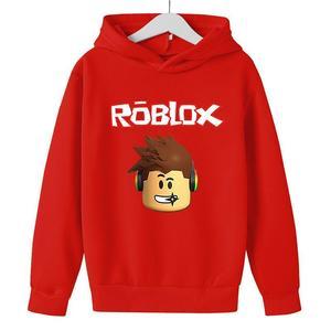 Boys Cartoon Sweatshirt Top Children's Kids Clothes Game New 4T-14T Cheeky kids Robloxing Girls  Jogging Children Hoodie
