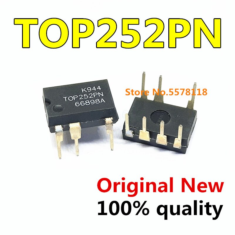10 Stks/partij TOP252PN TOP252 Dip-7 Nieuwe Originele Chipset