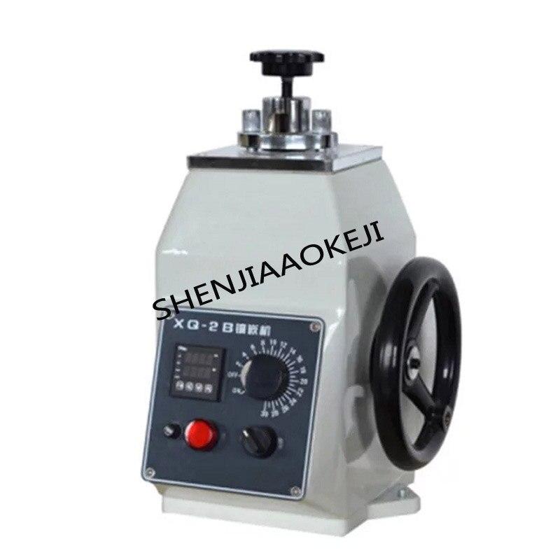 1 pieza XQ-2B máquina de montaje de muestras metalográficas 600W 45mm incrustación metalográfica con sincronización máquina de termostato 220V