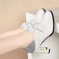2020 new autumn shoes woman high heels women pumps korea style work shoe round toe female footware slip on slides fashion beige